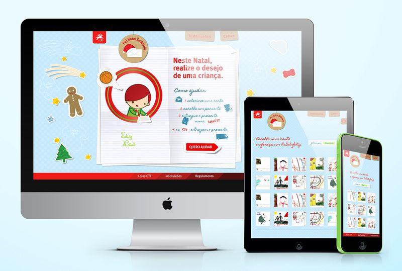 Webdesign for CTT