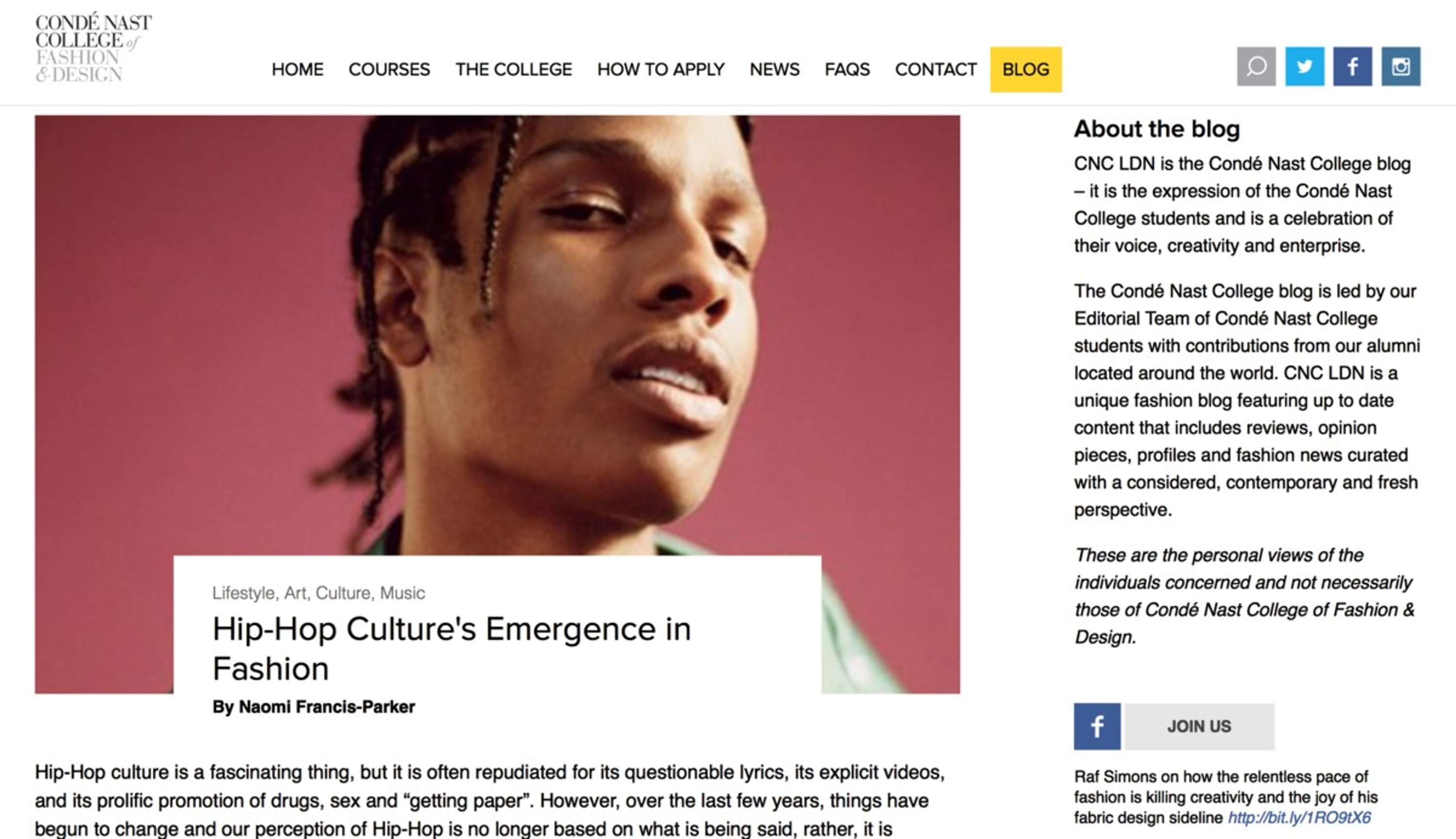 Hip Hop Culture S Emergence In Fashion The Dots