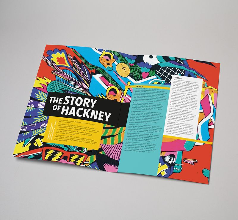 Bloomin' Hackney-editorial/annual report