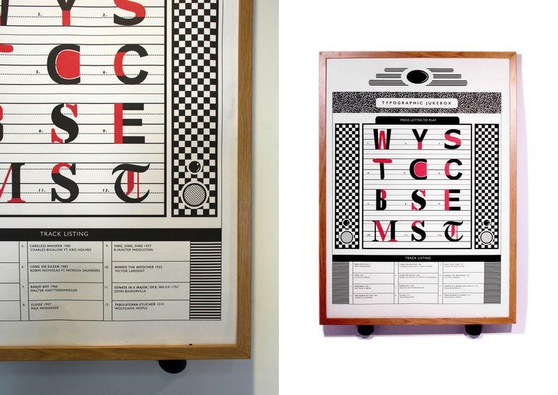 The typographic jukbox