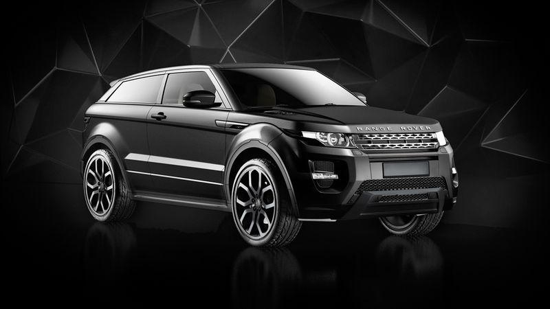 Range Rover Evoque CG Visuals