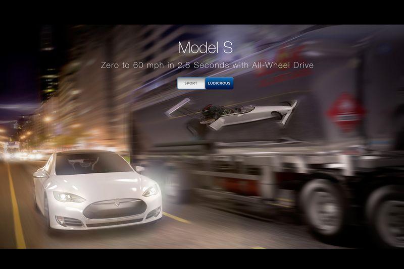 Tesla Model S CG Visuals