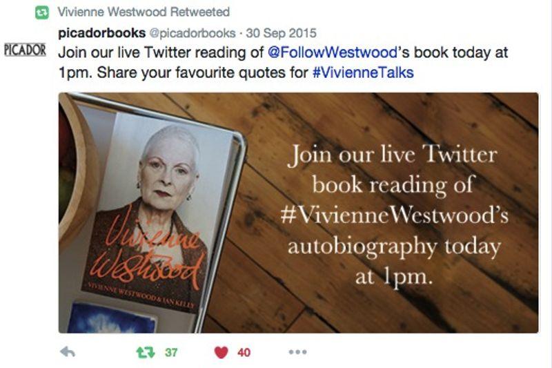 Vivienne Westwood - #VivienneTalks