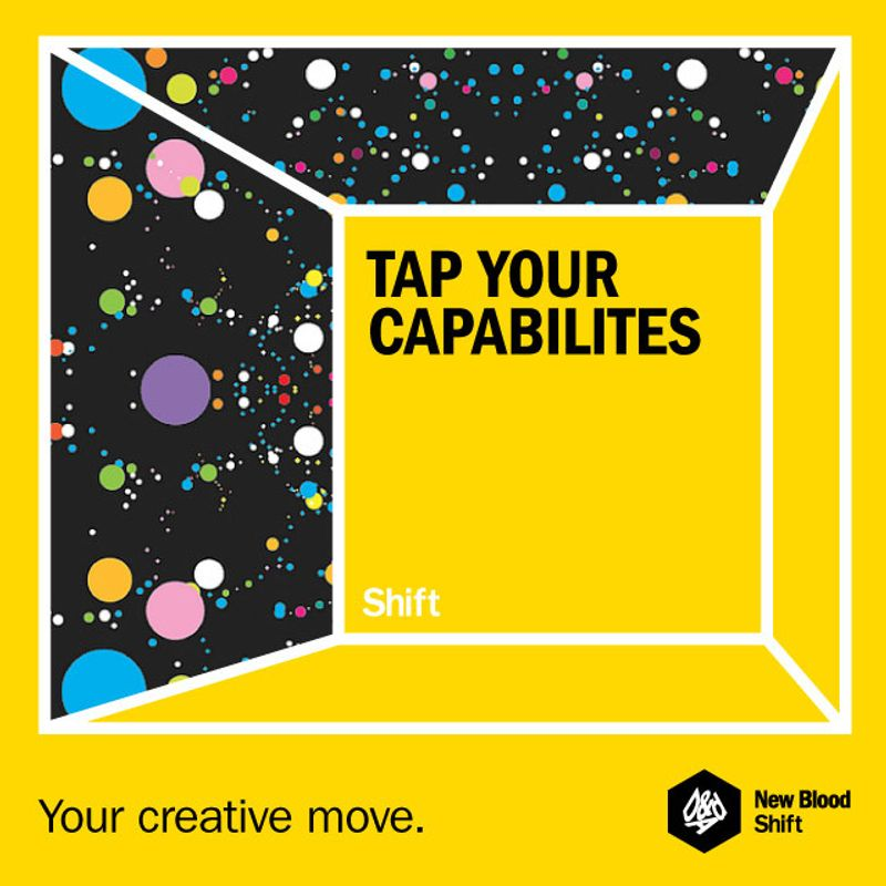 D&AD NEW BLOOD SHIFT – YOUR CREATIVE MOVE