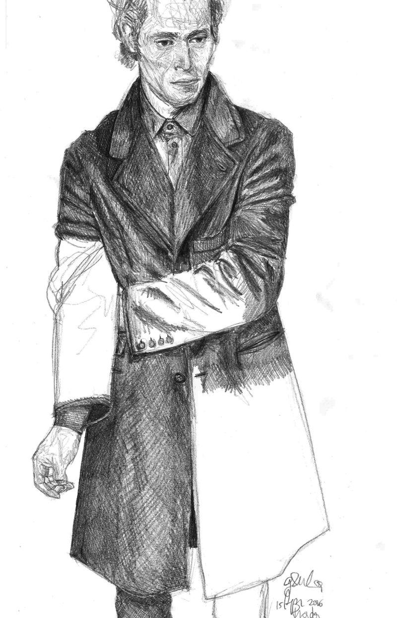 Prada Men Illustrations