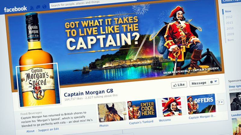 CAPTAIN MORGAN SOCIAL