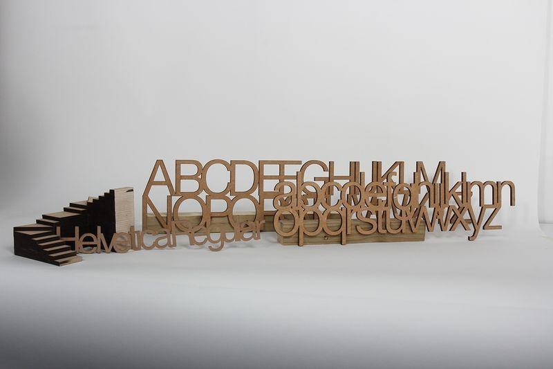 Helvetica craft