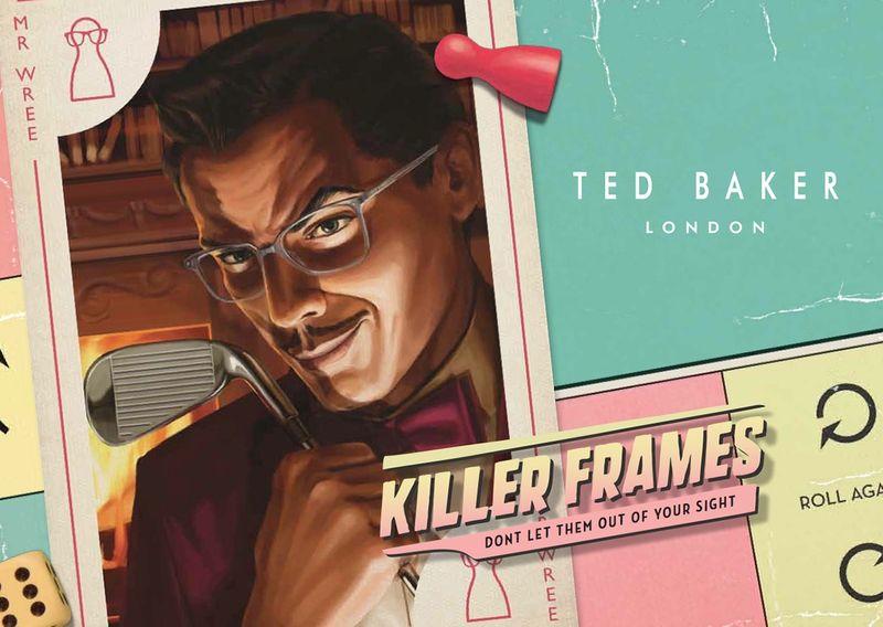 Ted Baker   2015 Eyewear campaign