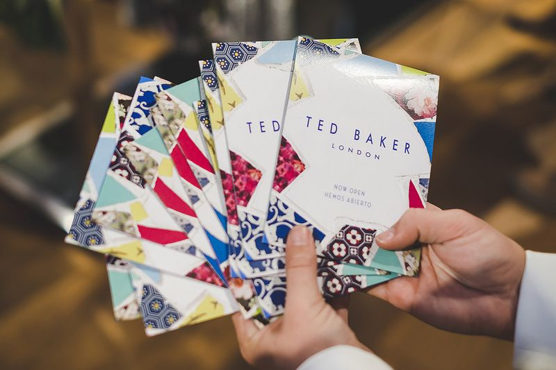 Ted Baker   La Roca store print assets