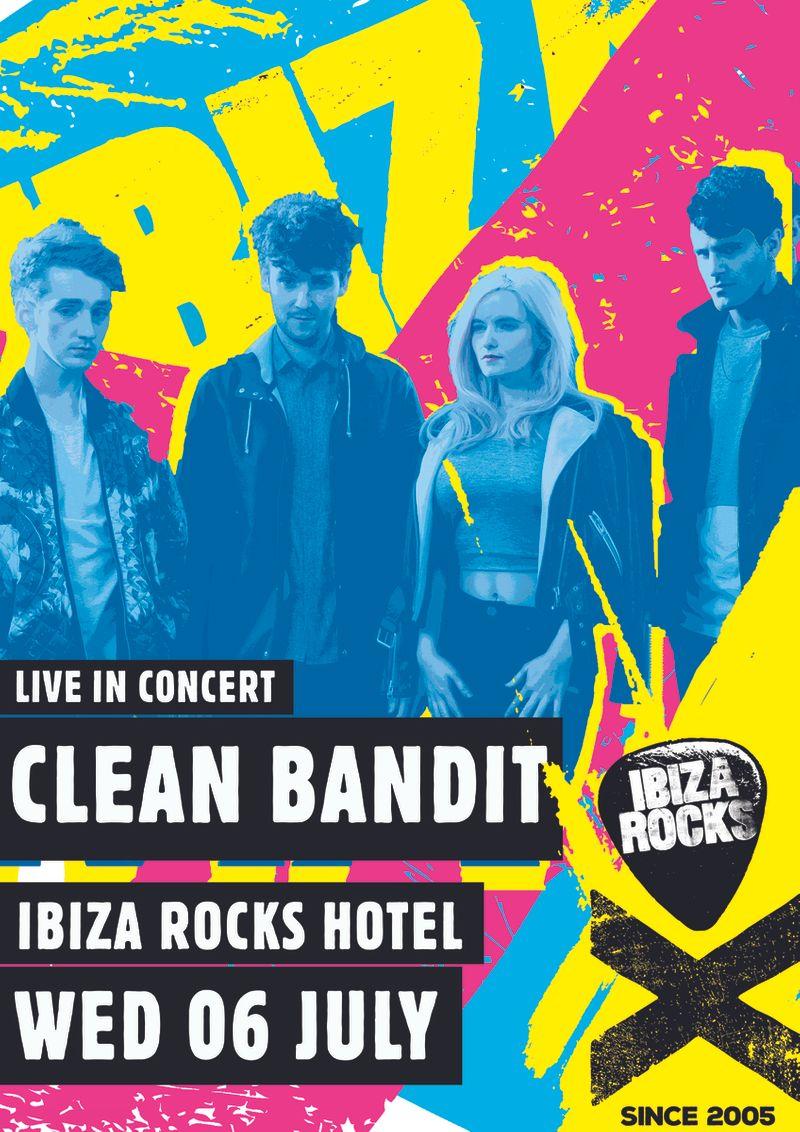 Ibiza Rocks 10 Year Poster