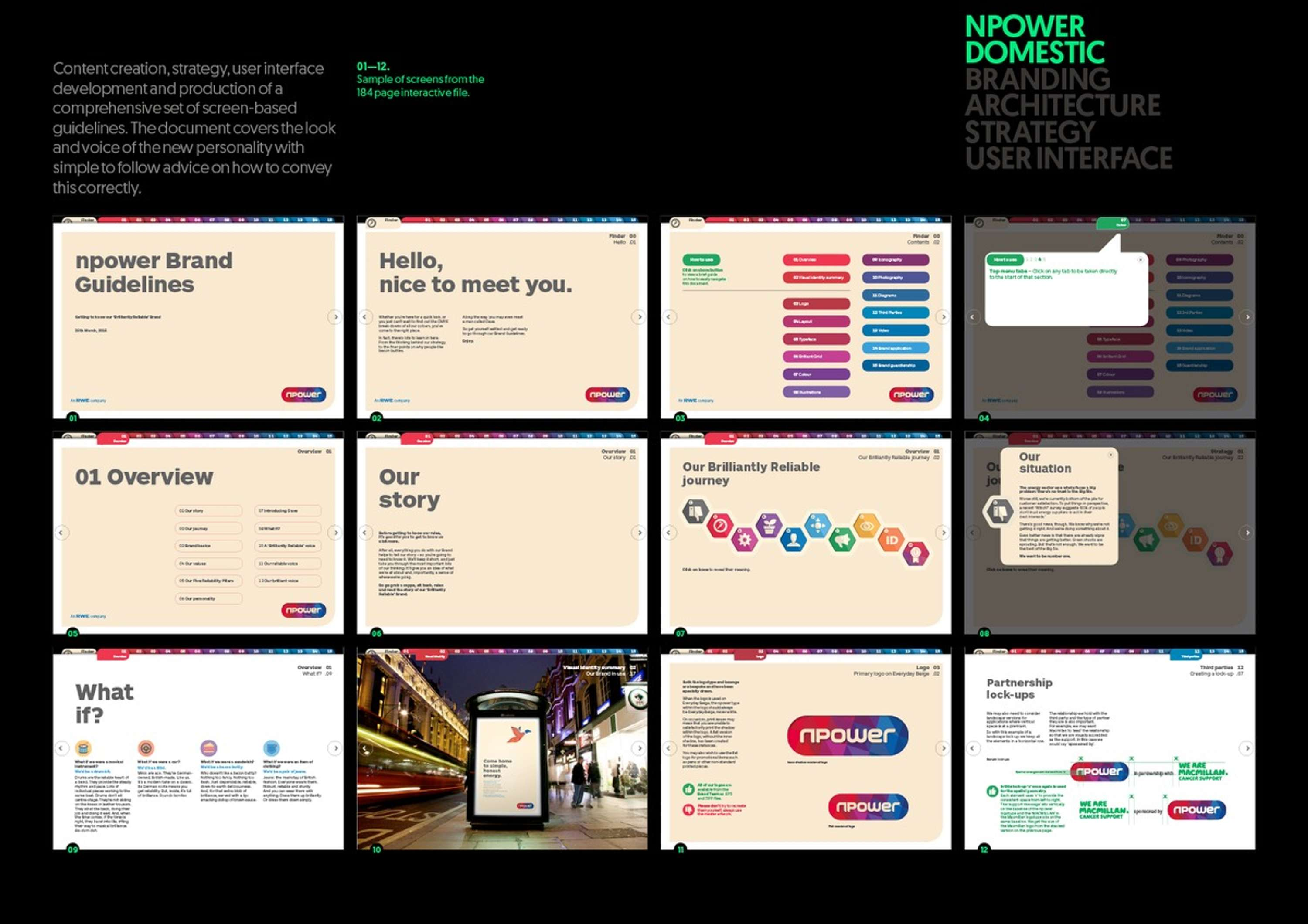 NPOWER Brand Guidelines | The Dots