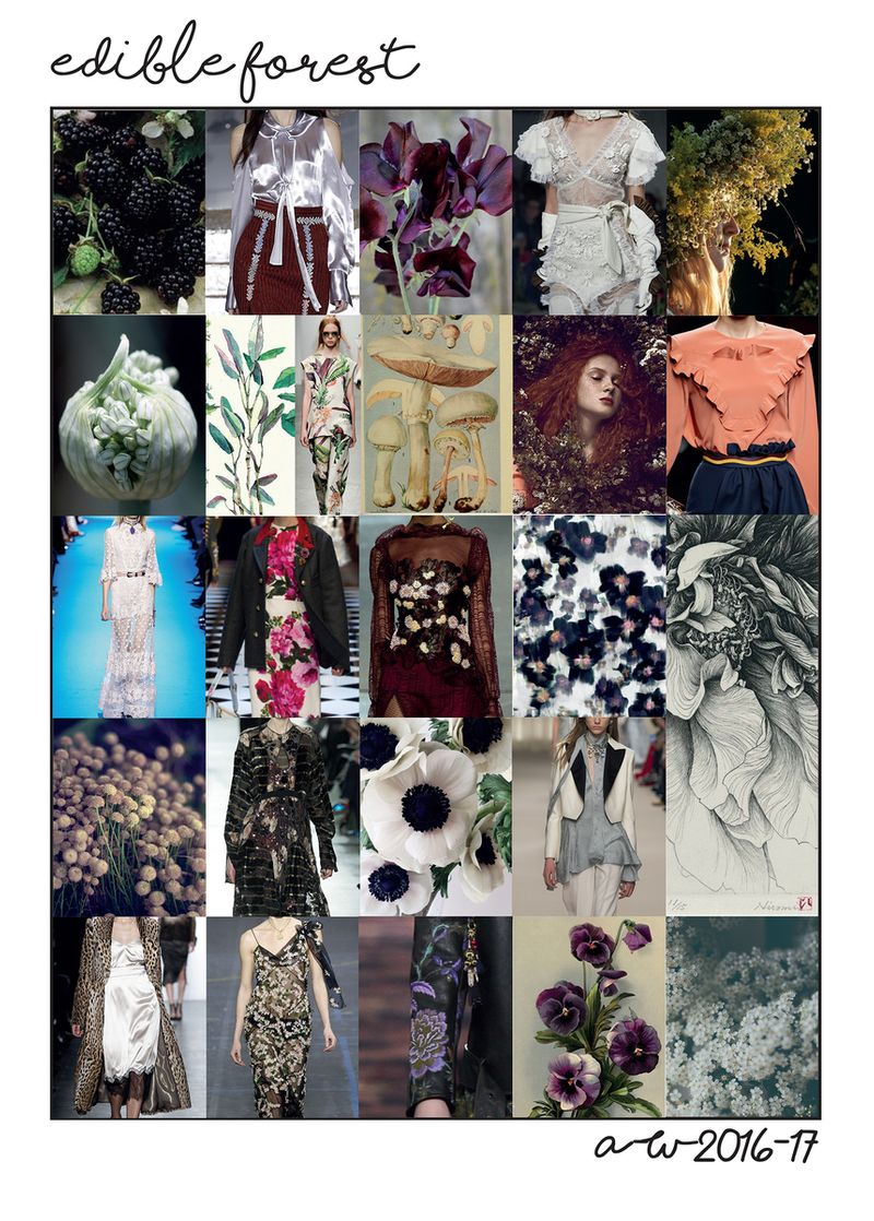 Edible Forest Occasionwear/ Print Design