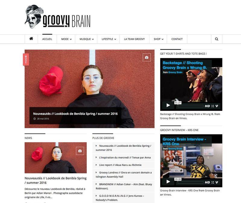 Groovy Brain online magazine
