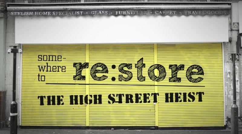 High street heist by somewhereto_