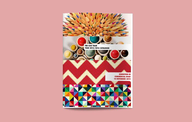 Exhibition Catalogue Layout