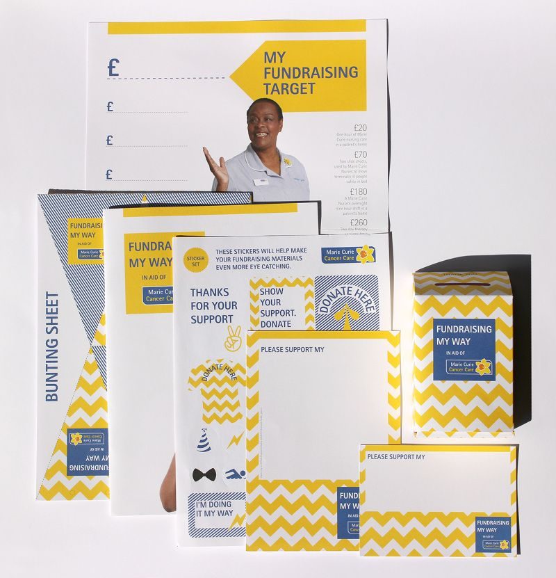 Marie Curie - Fundraising My Way