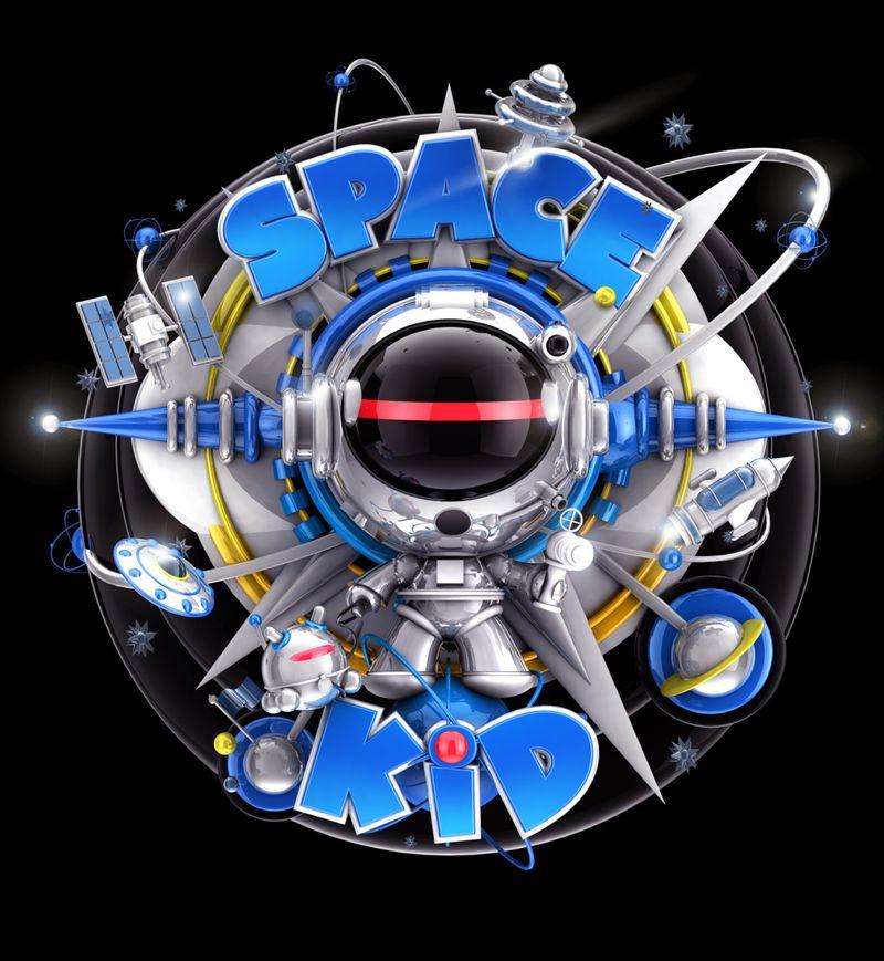 Space Kids Logo