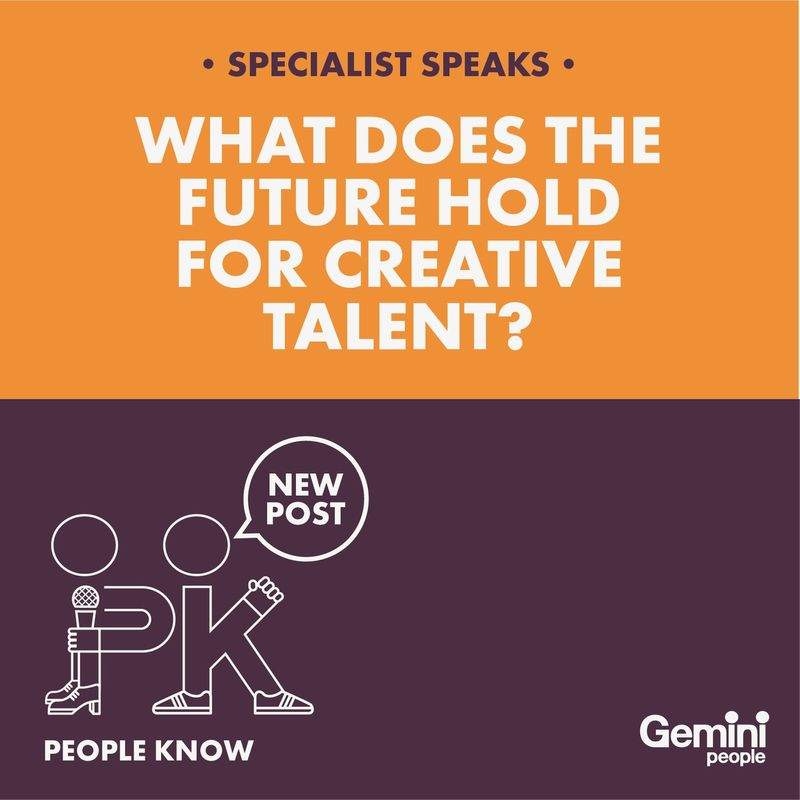 What does the future hold for creative talent?