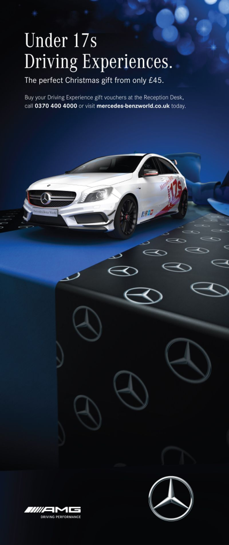 Mercedes Packaging - Blue