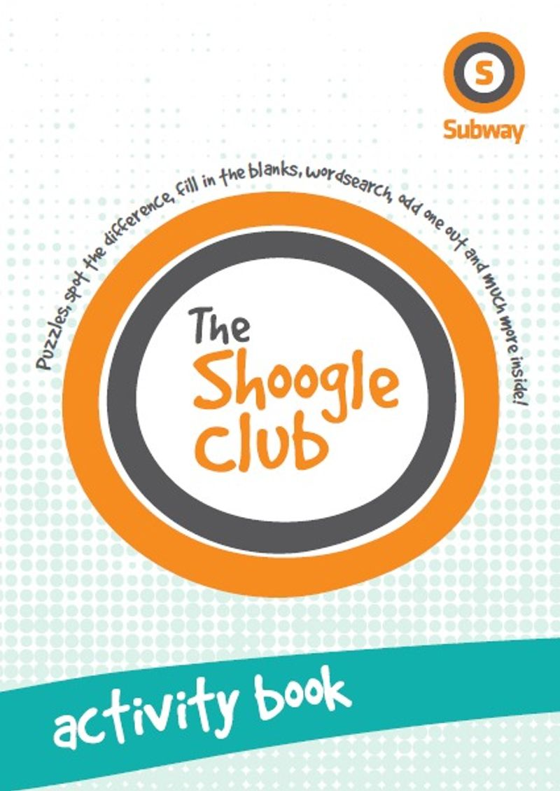 Glasgow Subway Activity Book for Kids