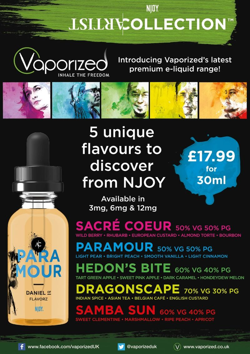 Artist Collection launch for Vaporized
