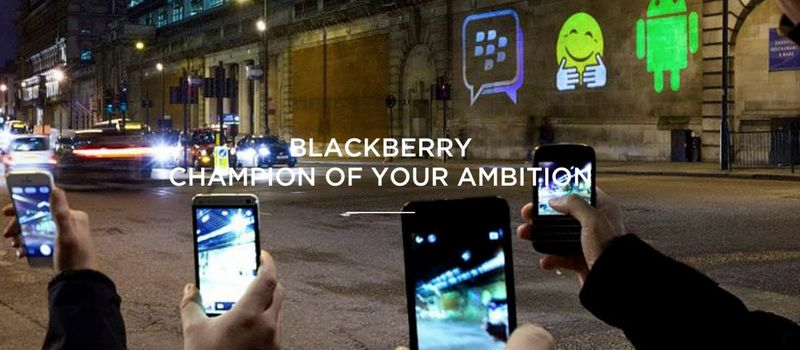 BLACKBERRY CHAMPION OF YOUR AMBITION