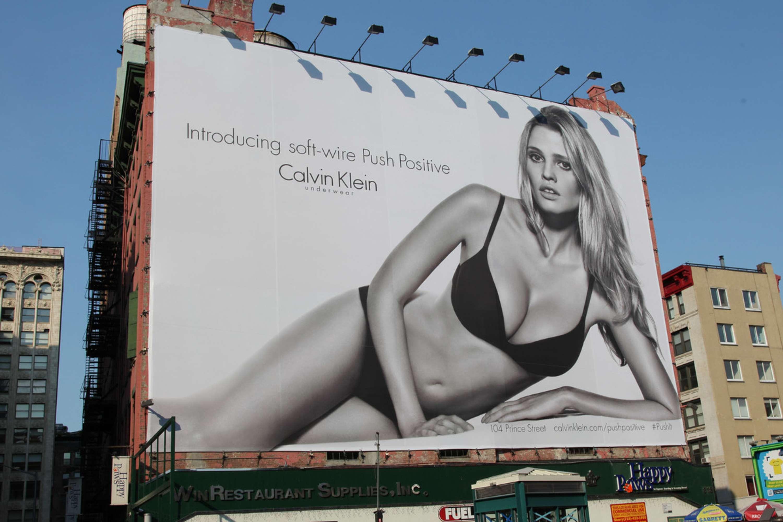 8c532db4ed Calvin Klein Push Positive Campaign