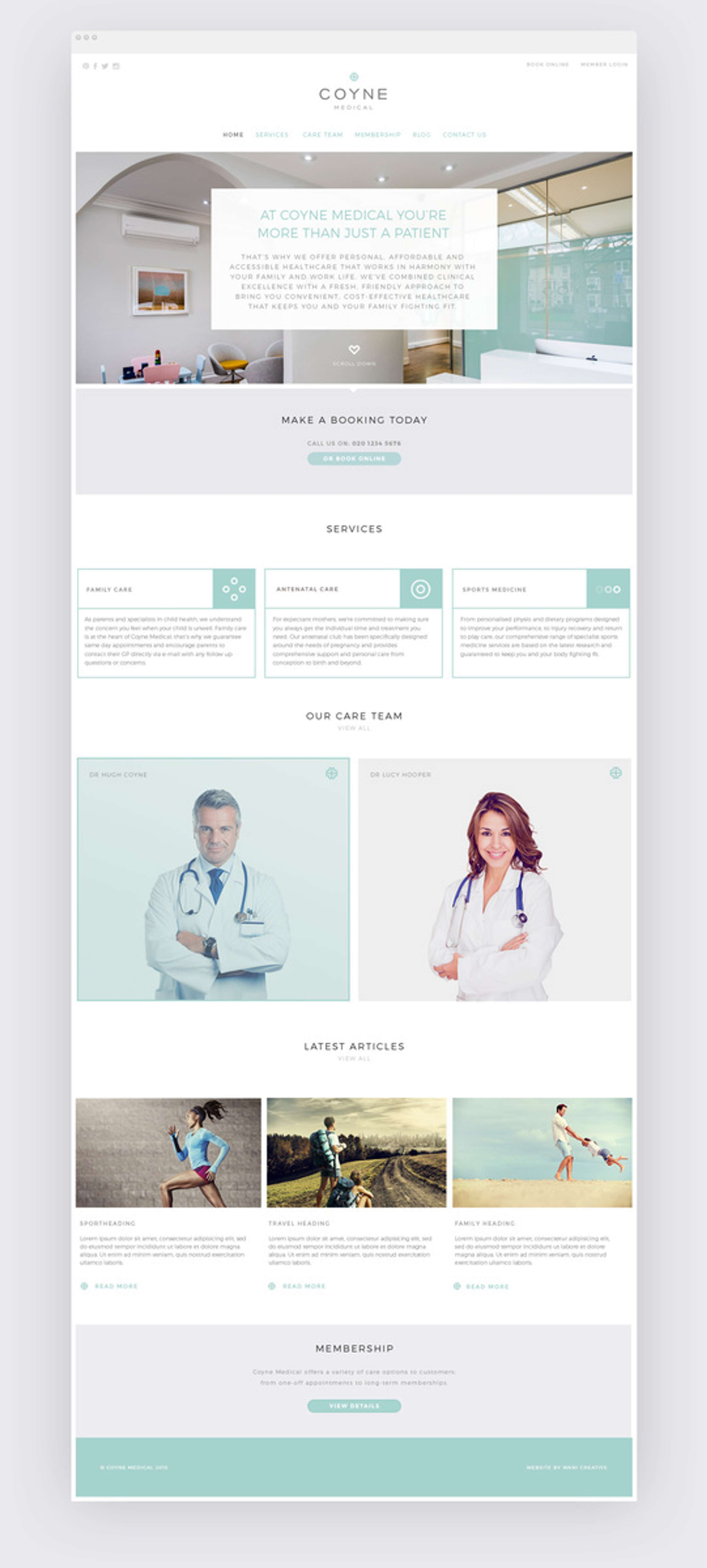 Coyne Medical | The Dots