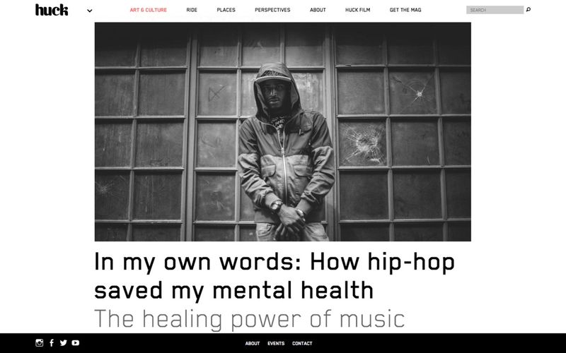 In my own words: How hip-hop saved my mental health