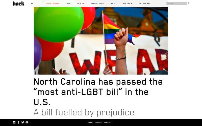 "North Carolina has passed the ""most anti-LGBT bill"" in the U.S."