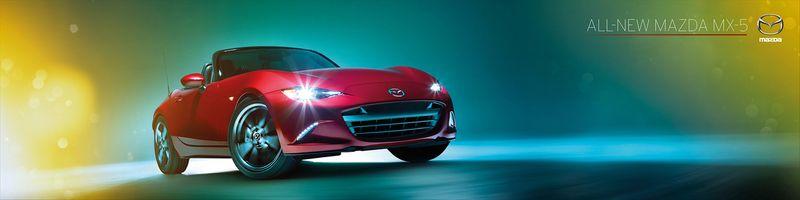 New Mazda MX-5 launch
