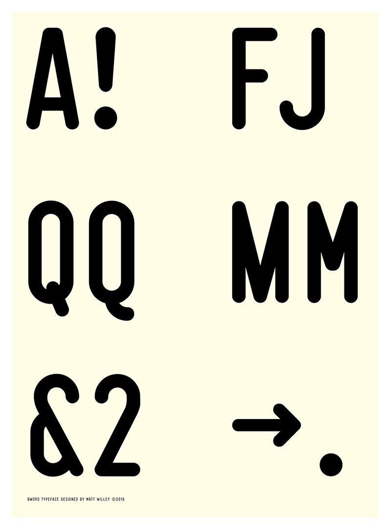 BWord Typeface