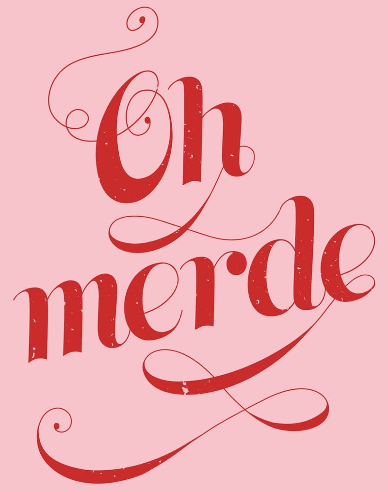 Oh Merde poster