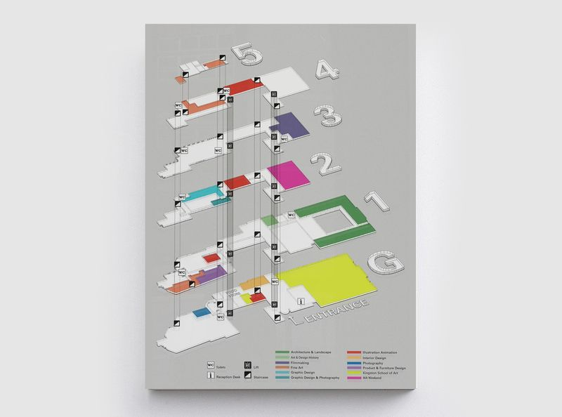 Degree Show Map
