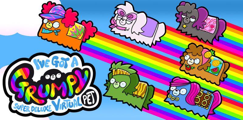Grumpy: My Super Deluxe Virtual Pet