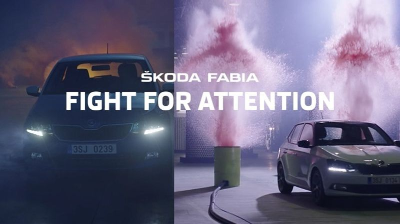 Skoda Fight For ttention