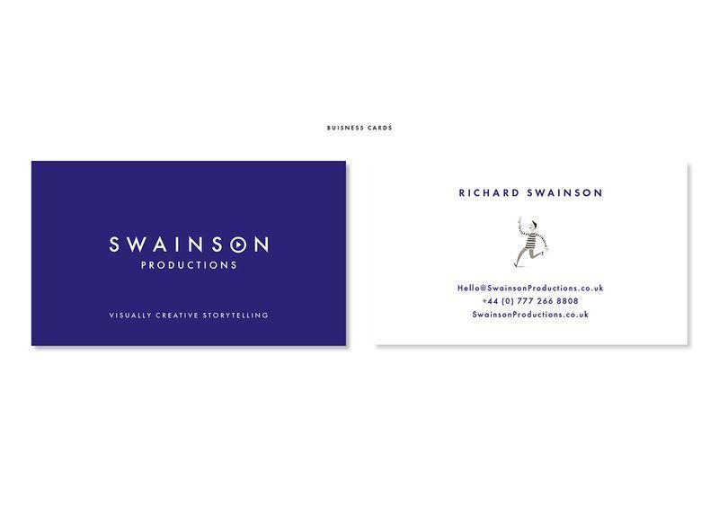 Swainson Productions Identity Design