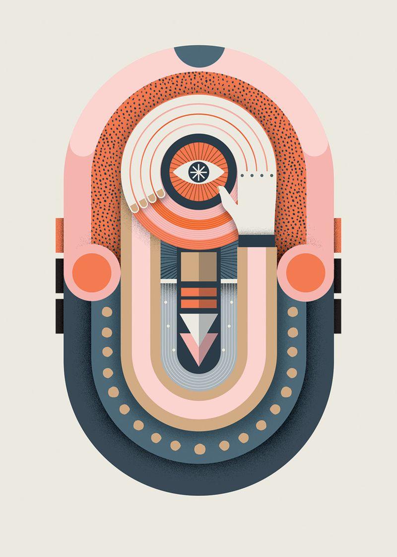 Lagom Magazine  - Illustration