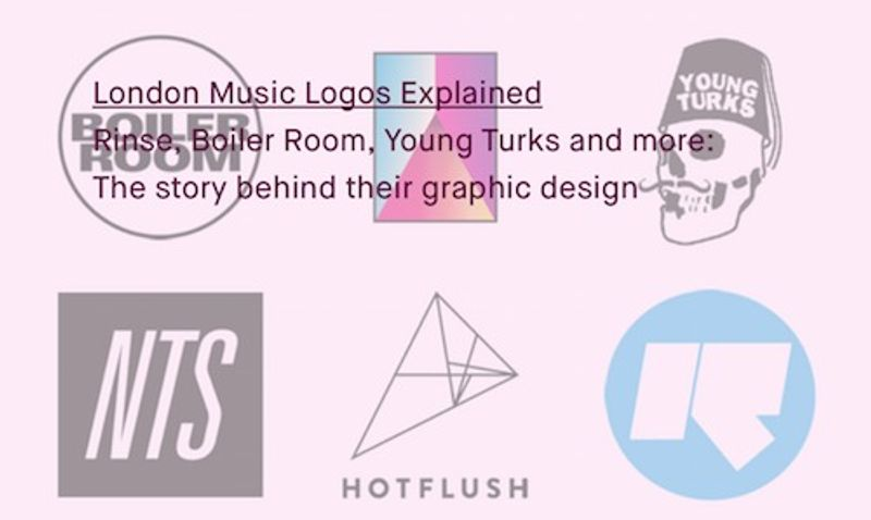 London Music Logos Explained, Red Bull Music Academy Daily feature