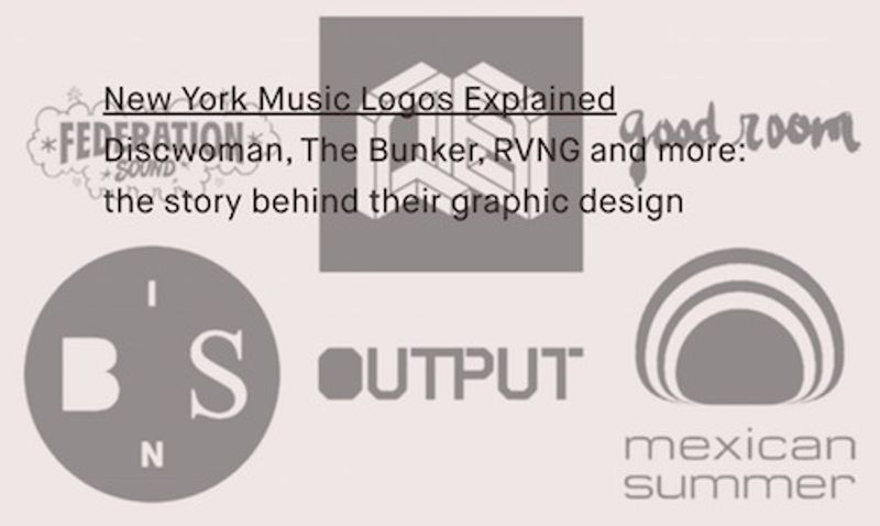 New York Music Logos Explained, Red Bull Music Academy Daily feature