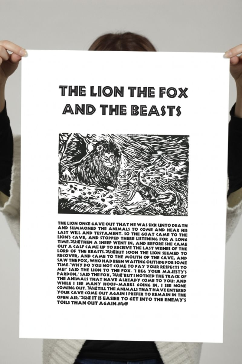 The Lion The Fox And The Beasts