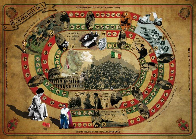 """""""Il GIUOCO DELL'OCA"""" The game of the goose"""