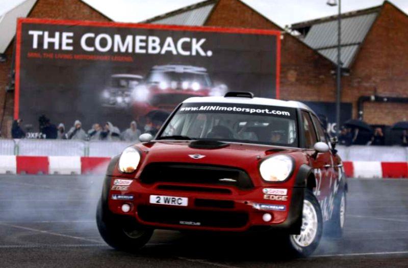 MINI WRC Launch