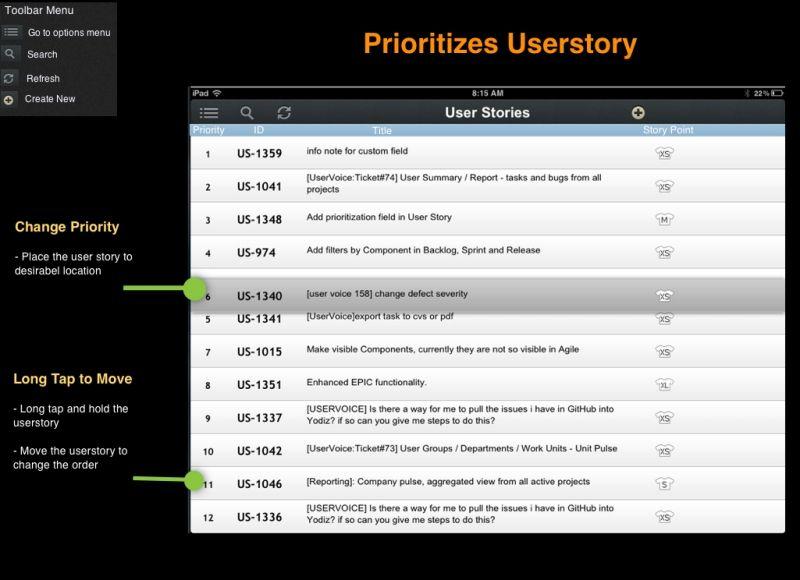 Yodiz-iPad App
