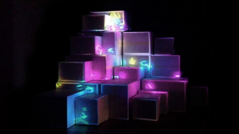 : flux : // projection mapping