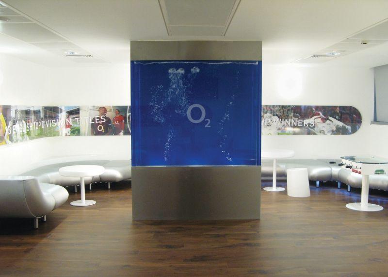 O2 Blue Room at Emirates Stadium