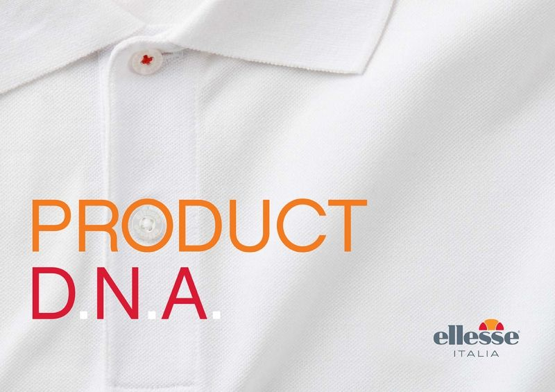 Ellesse Product DNA style guide