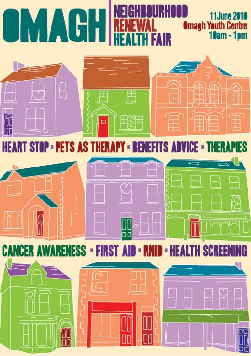 Omagh Neighbourhood Renewal Poster