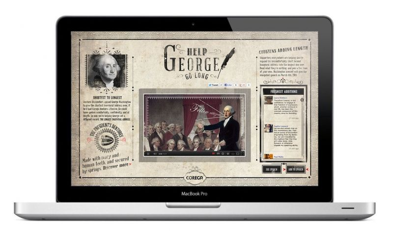 Corega_HELP GEORGE GO LONG