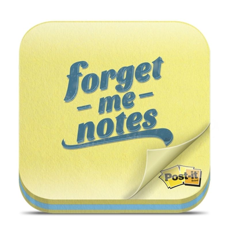 Post it_FORGET ME NOTES